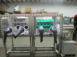 LC-200 Custom Double Length Double Sided Glovebox System
