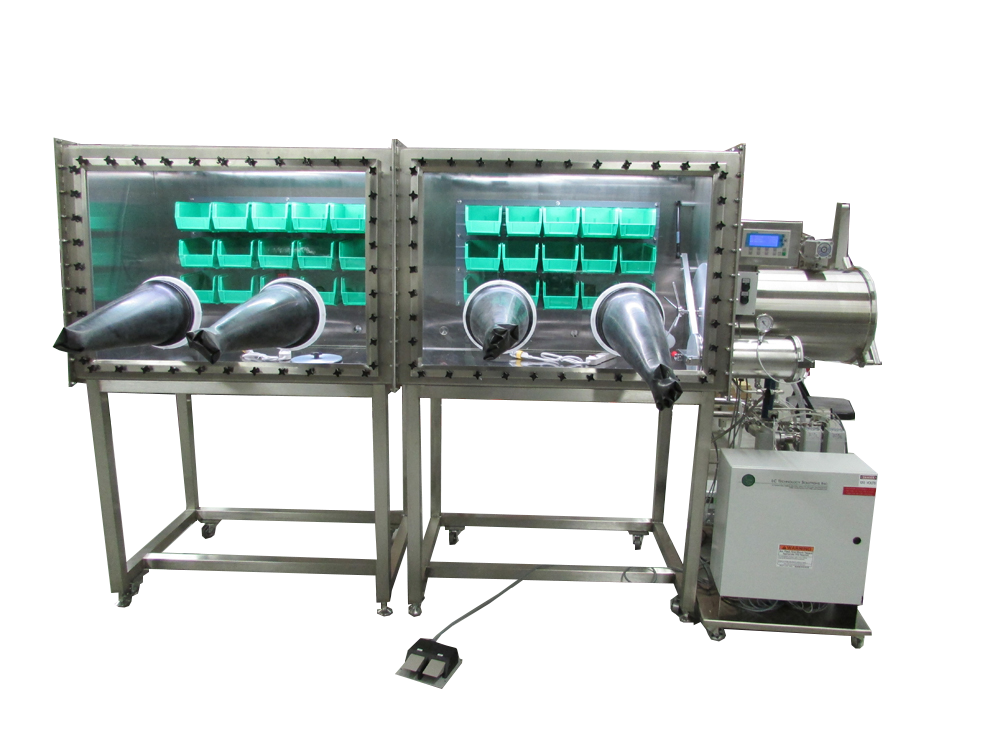 LC-200 Double Length Glovebox System
