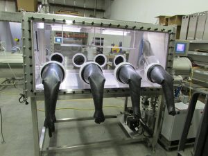 LC-180 Double Sided Glovebox System
