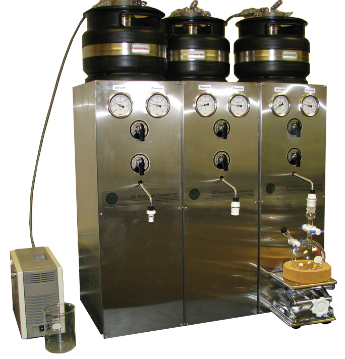 SPBT-103 Bench Top Solvent Purification System