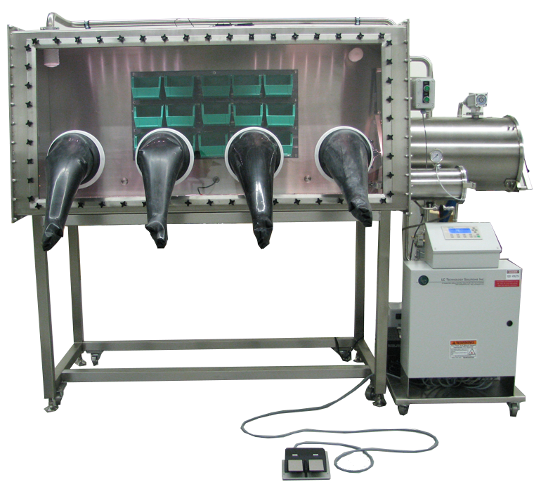 LC-180 Single Sided Glovebox System