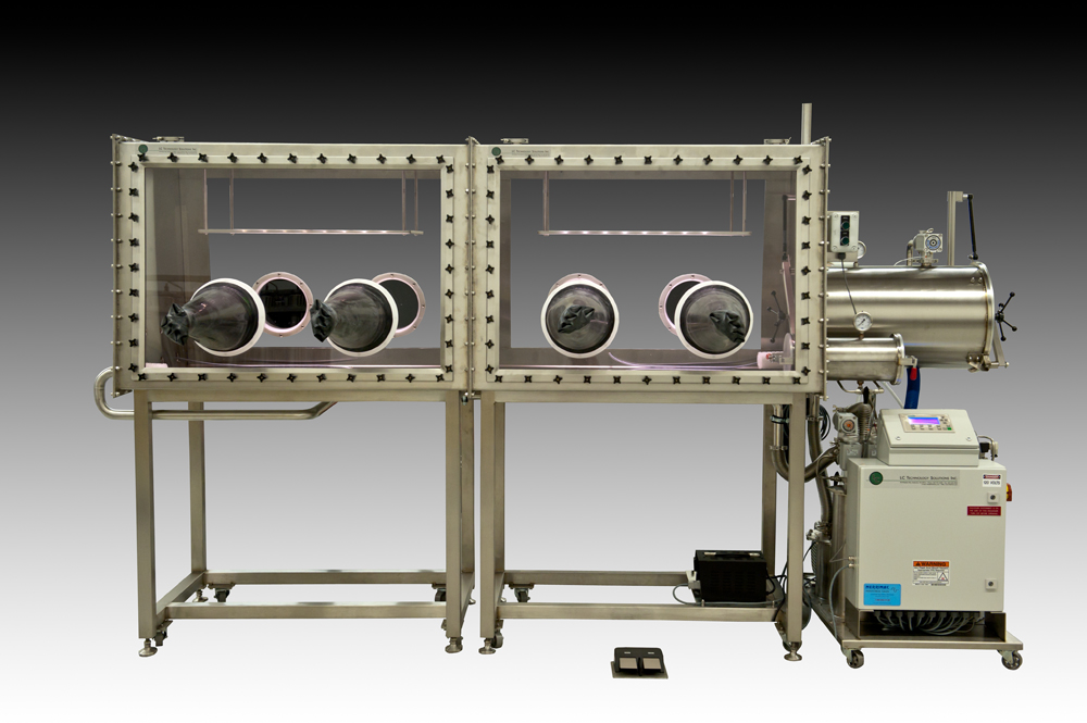 LC-200 Double Length Double Sided Glovebox System
