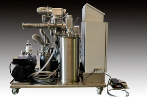 External Solvent Removal System